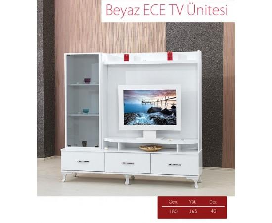 BEYAZ ECE TV ÜNİTESİ