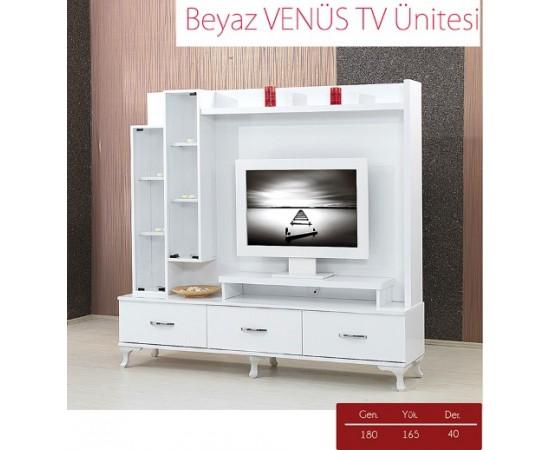 BEYAZ VENÜS TV ÜNİTESİ