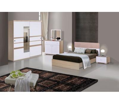 OMS 400 Sonoma - Beyaz Yatak Odası Takımı