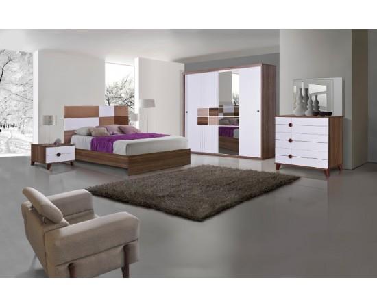 OMS 390 Haliç - Beyaz Yatak Odası Takımı