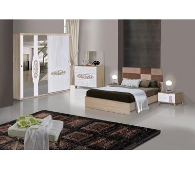 OMS 360 Sonoma - Beyaz Yatak Odası Takımı